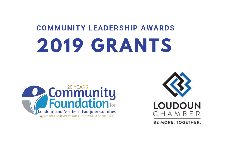 Community Leadership Awards 2019 Grants