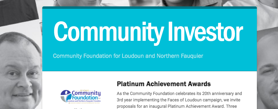 Community Investor:  March 2019 Newsletter