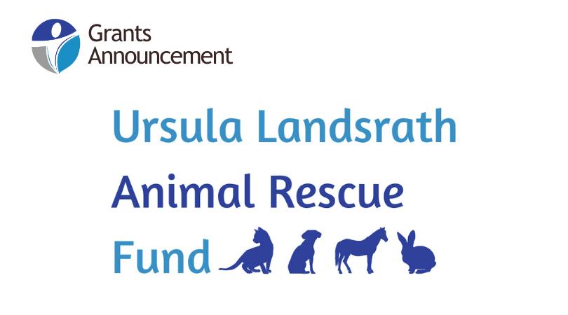 Ursula Landsrath Animal Rescue Fund Grants $46,000 to Animal Welfare Nonprofits
