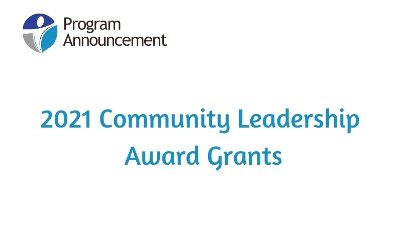 2021 Community Leadership Award Winners Recommend Grants to Five Oranizations