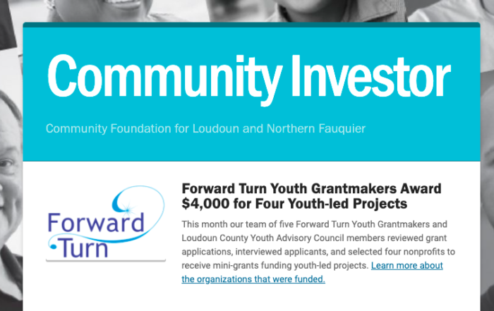 community investors newsletter