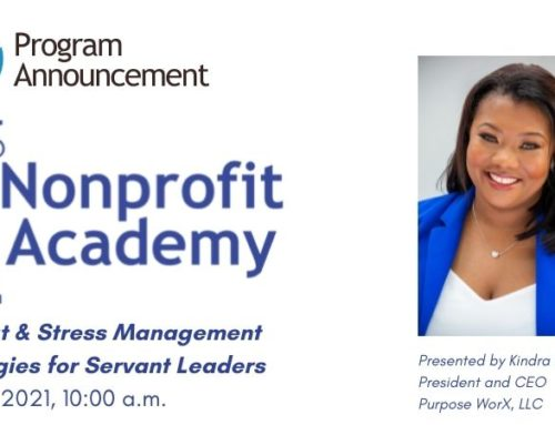 Nonprofit Academy | Burnout & Stress Management Strategies for Servant Leaders