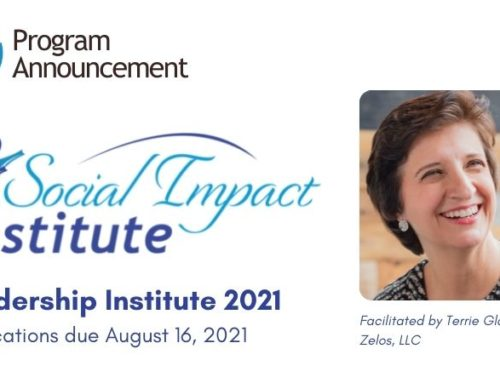 Now Accepting Applications:  Leadership Institute 2021