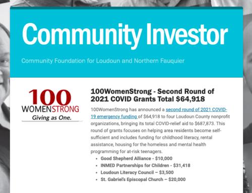 Community Investor Newsletter – June 2021