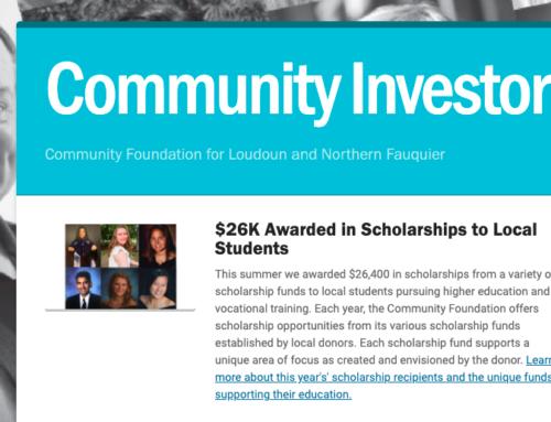 Community Investor Newsletter – July 2021