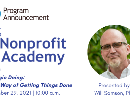 Nonprofit Academy | Strategic Doing: A New Way of Getting Things Done